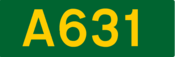 A631 road shield