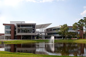 North Florida - Student Union Building at the University of North Florida in Jacksonville