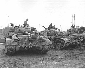 Tank destroyer battalion (United States) - M26 Pershings; a powerful heavy/medium tank which effectively made the specialist tank destroyer obsolete