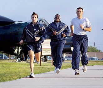 United States Air Force - USAF Airmen training at Lackland AFB