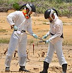 USAID Dioxin Contamination Project Progress Soil Sampling (9365427446).jpg