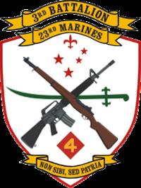 USMC - 3rd Battalion 23rd Marines
