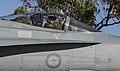 USMC exchange pilot in a No 75 Squadron RAAF F-18 Hornet in 2016.jpg