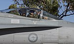 USMC exchange pilot in a No 75 Squadron RAAF F-18 Hornet in 2016.jpg