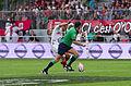 USO - RCT - 28-09-2013 - Stade Mathon - Jonathan Wilkinson et Romain Poite.jpg