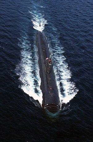 USS Albany (SSN-753) - Albany in the Gulf of Oman, 2004