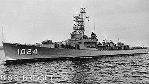 USS Bridget (DE-1024) - USS Bridget (DE-1024)