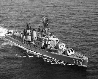 USS Douglas H. Fox - Douglas H. Fox after her FRAM II-modernization.