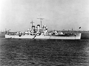 USS Helena (CL-50) - Helena in 1940.