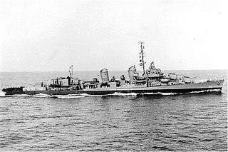USS <i>Isherwood</i> (DD-520) United States Navy ship