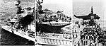 USS Long Beach (CGN-9) returns a SH-3A Sea King of HS-2 to USS Hornet (CVS-12), in 1967.jpg