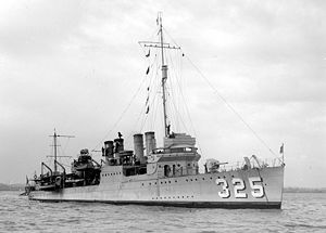 USS Mullany SLV Green 1925