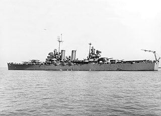 USS <i>Nashville</i> (CL-43) WWII US light cruiser