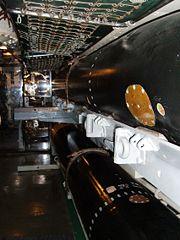 USS Pampanito after torpedo room 2