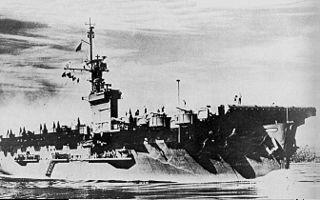 USS <i>Roi</i> Casablanca-class escort carrier of the US Navy
