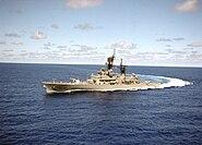 USS Reeves Underway Color (3)