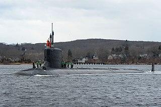 USS <i>South Dakota</i> (SSN-790) US Navy Virginia-class submarine