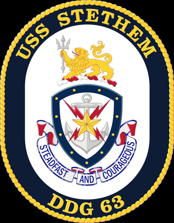 USS Stethem DDG-63 Crest