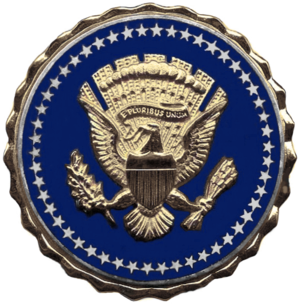 William Eldridge Odom - Image: US Presidential Service Badge