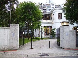 Taipei Film House cinema in Taipei, Taiwan, the former Consulate of the United States in Taipei