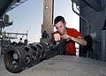 US Navy 021014-N-6817C-004 .50 caliber machine gun maintenance on board ship.jpg