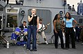 US Navy 031003-N-9414C-256 Benfold Band provides entertainment for the guests participating in USS Benfold's (DDG 65) Tiger Cruise.jpg