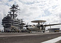 US Navy 060410-N-9621S-005 An E-2C Hawkeye assigned to the.jpg