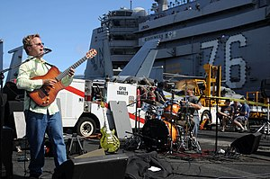 Steve Oliver - A concert with Steve Oliver on the aircraft carrier USS Ronald Reagan