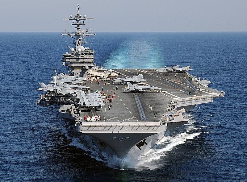 USS George H.W. Bush parte para sua primeira viagem operacional