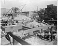 US Post Office being built in Kinston, NC. Date of this photo is 10 May 1915. From Coble's Art Studio Photograph Collection, PhC.190, State Archives of North Carolina. (9617355270).jpg
