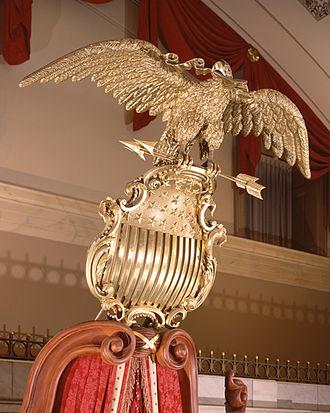 Seal of the United States Senate - Eagle and Shield
