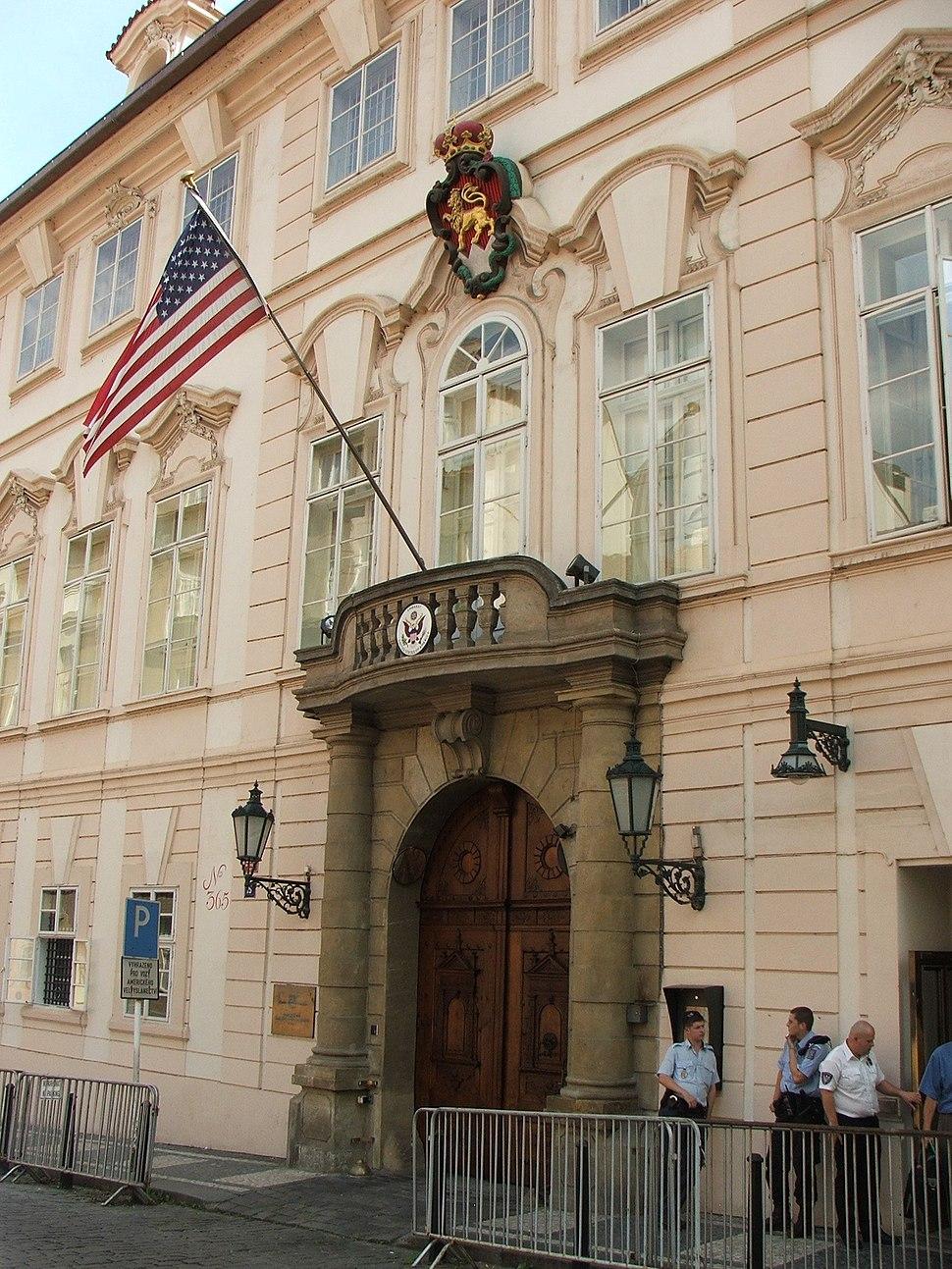 US embassy Prague 2847