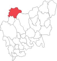 Norbergs købstad i Västmanlands amt