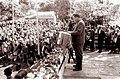 Udeležencem proslave v Mangi pri Planini govori Peter Hlastec 1962 (2).jpg
