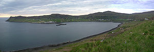 Uig, Skye - Uig harbour and village