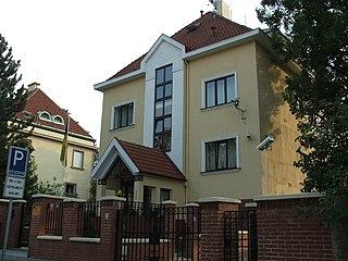 Embassy of Ukraine, Prague