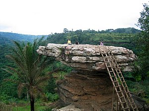 Koforidua - Umbrella Rock tourism site