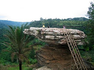 Koforidua - Umbrella Rock tourism site