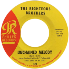Unchained Melody by Righteous Brothers 1965 US vinyl B-side.png