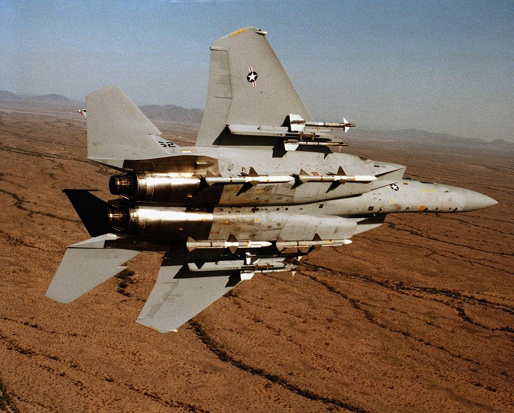 По сусекам: модернизация старья F-15 в американской армии