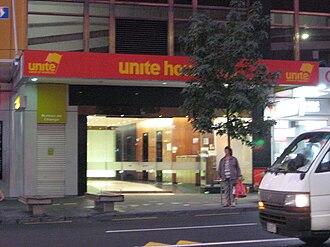 Unite Union - Former Unite Union headquarters in Auckland.