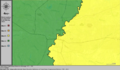 United States Congressional Districts in Mississippi (metro highlight), 1973 – 1982.tif