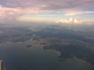 Batam - The whole Batam view from the air