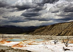 Upper Terraces of Mammoth Hot Springs.jpg