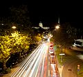 Uraniastrasse Zurich by night by badwy - panoramio.jpg
