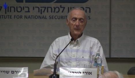 Uri Lubrani June 2013