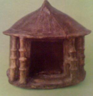 Latial culture - Cinerary urn