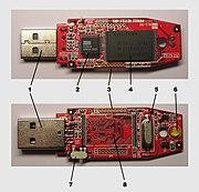 Εσωτερικό USB μνήμης