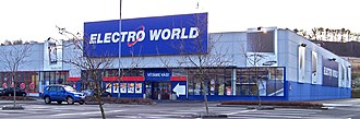 Dixons Retail - Electro World store in Ústí nad Labem, Czech Republic