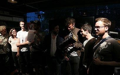 VIS - Vienna Independent Shorts 2014 Music Video Awards at Heuer am Karlsplatz 05 Marco Celeghin Ann-Katrin Dorner Christoph Etzlsdorfer BRNS.jpg
